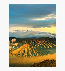 Bromo Tengger Semeru national park. Java. Indonesia Photographic Print