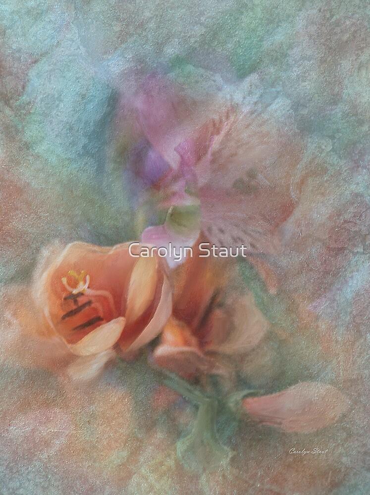 Peach Freesia by Carolyn Staut