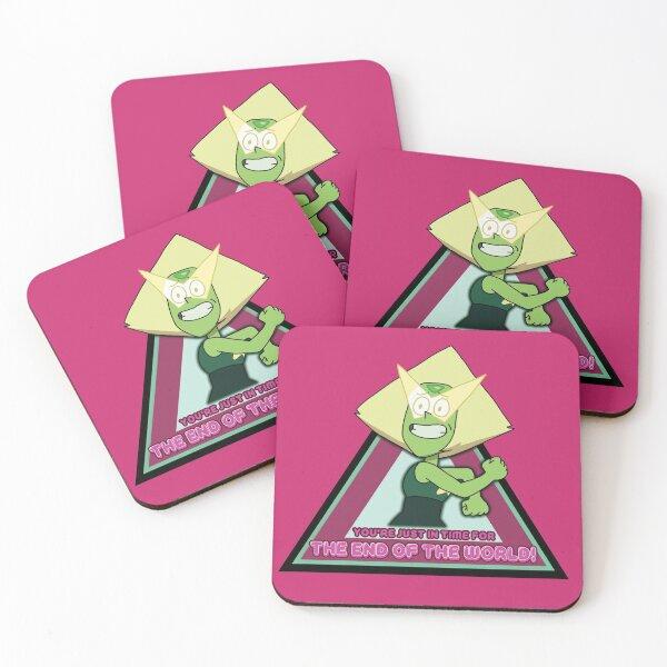 Peridot Is A Mood Coasters (Set of 4)