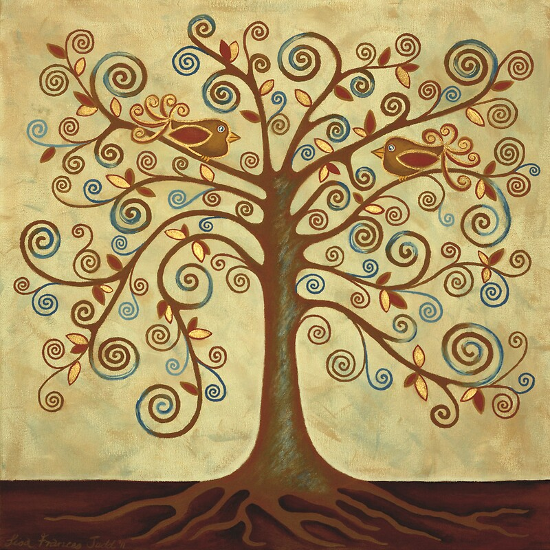 Quot Tree Of Life Acrylic Painting Quot By Lisafrancesjudd
