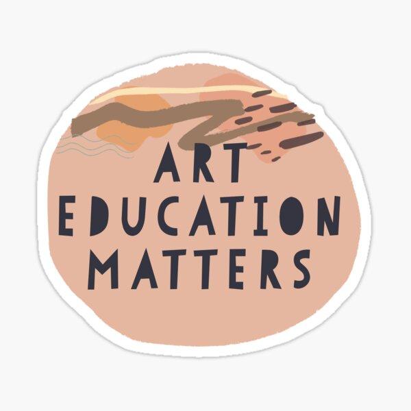 Art Education Matters Sticker