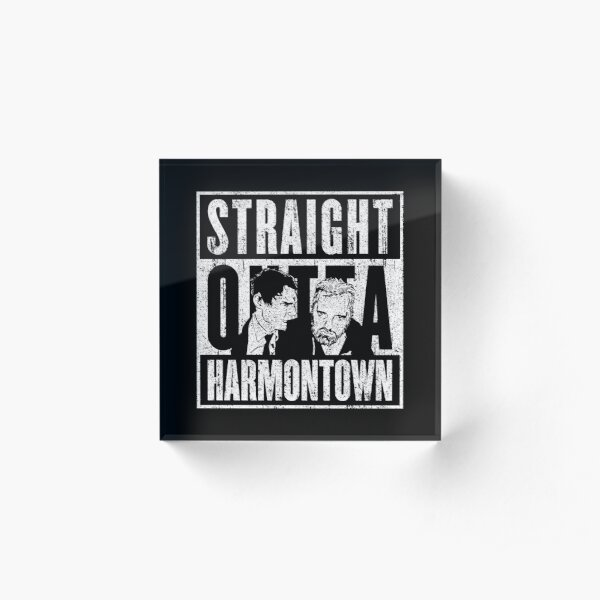 Straight Outta Harmontown Acrylic Block