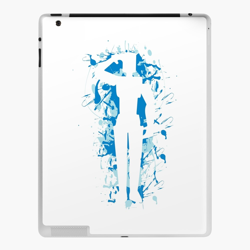 Salute Emote Blue Ipad Case Skin By Rainbowdreamer Redbubble