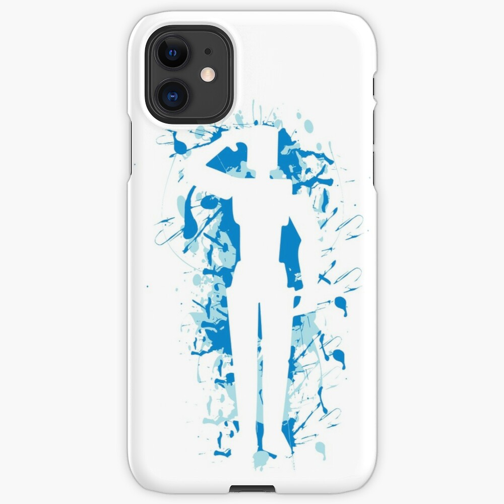 Salute Emote Blue Iphone Case Cover By Rainbowdreamer Redbubble