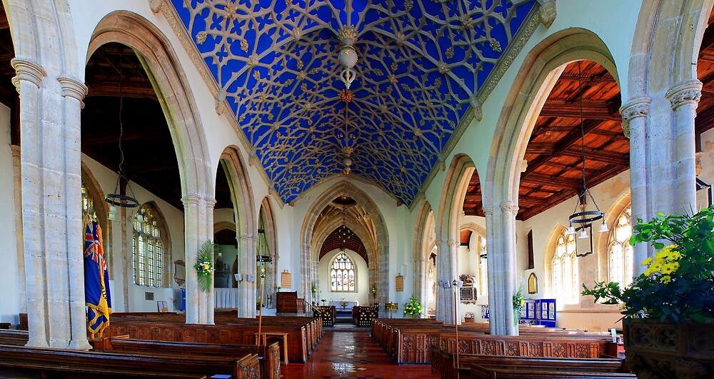 St John The Baptist, Axbridge - Nave by Dave Godden