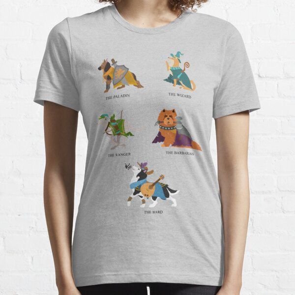 Dungeons And Doggos Essential T-Shirt