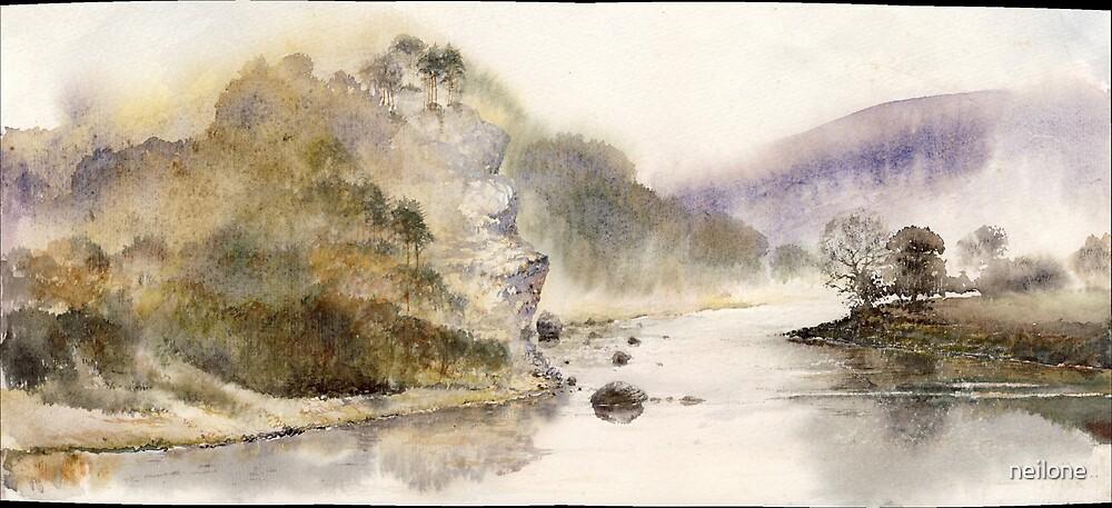Passage through the Gorge by Neil Jones