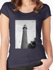 In the Rain Women's Fitted Scoop T-Shirt