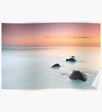 Sunrise over the sea. Poster