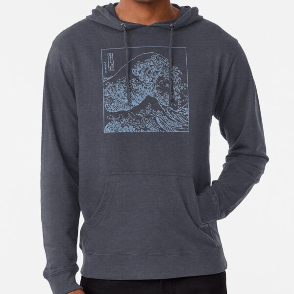 THE GREAT WAVE Lightweight Hoodie