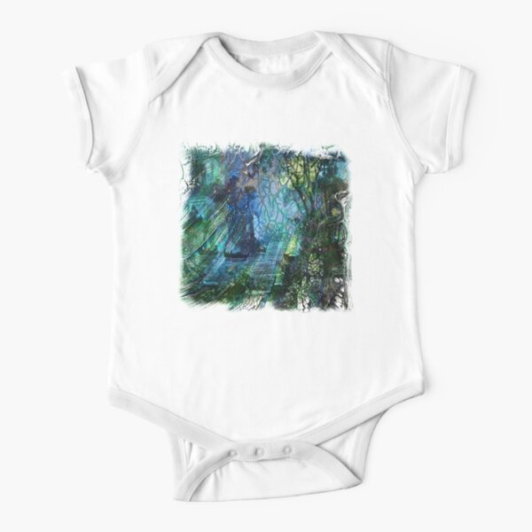 The Atlas Of Dreams - Color Plate 97-98 Short Sleeve Baby One-Piece