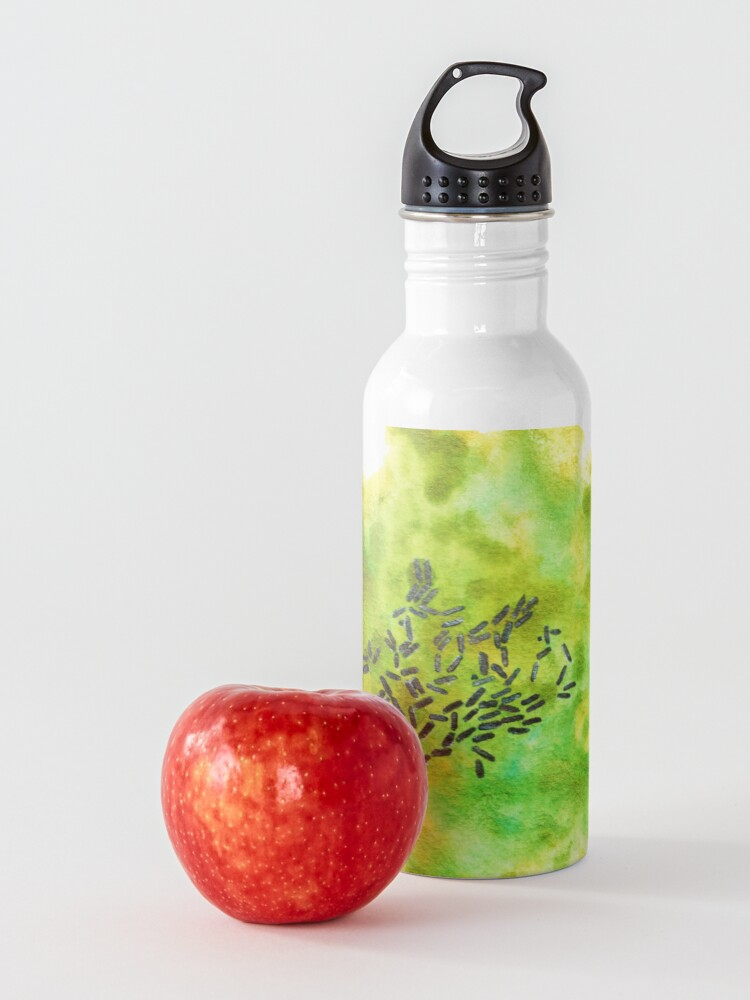 Alternate view of Pseudomonas Art Prints Water Bottle
