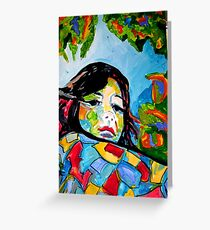 RETRATO Greeting Card