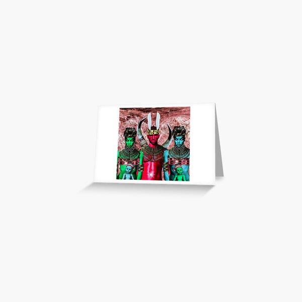 NJOKU-JI, IFEJIOKU, AHIA-NJOKU, AHA-NJOKU BY SIRIUS UGO ART Greeting Card