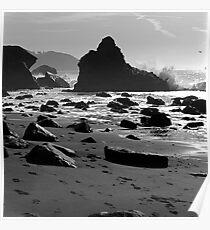 Marshall's Beach, San Francisco Poster