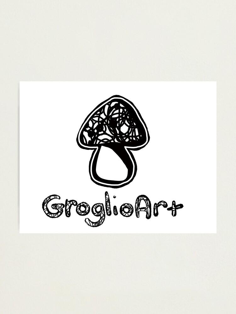 Alternate view of GroglioArt Mushroom Photographic Print