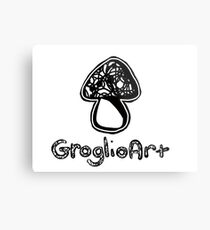 GroglioArt Mushroom Metal Print
