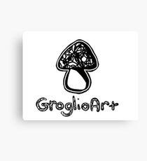 GroglioArt Mushroom Canvas Print