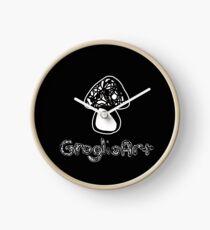GroglioArt Mushroom Clock