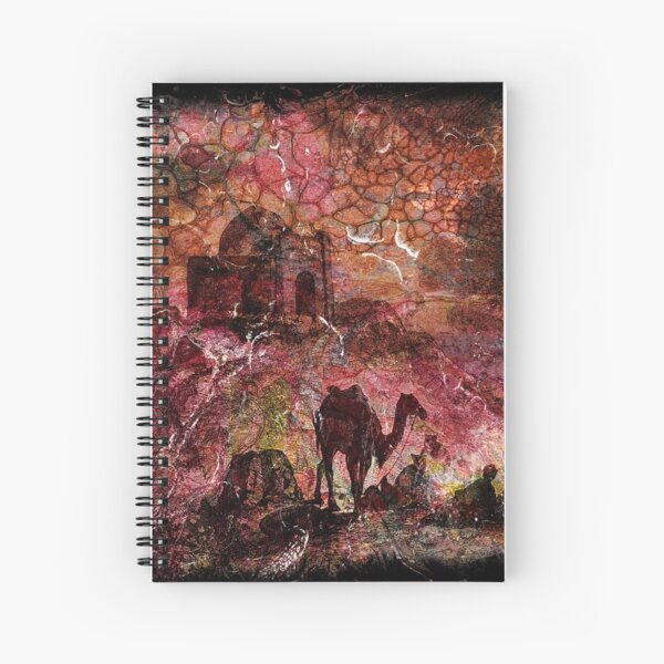 The Atlas Of Dreams - Color Plate 99 Spiral Notebook