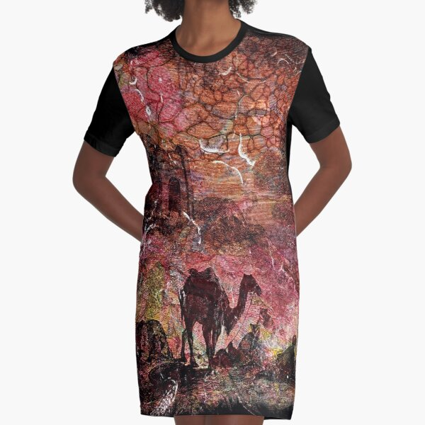 The Atlas Of Dreams - Color Plate 99 Graphic T-Shirt Dress
