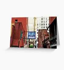 Bourbon Street Blues Greeting Card
