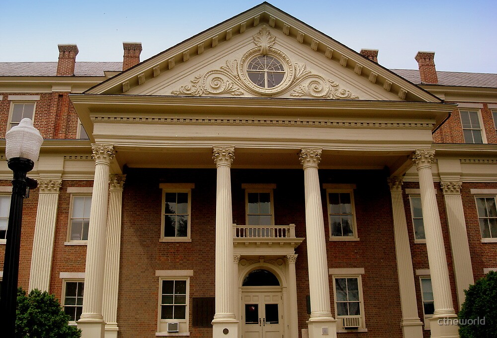 Administration Building - Roanoke College campus by ctheworld