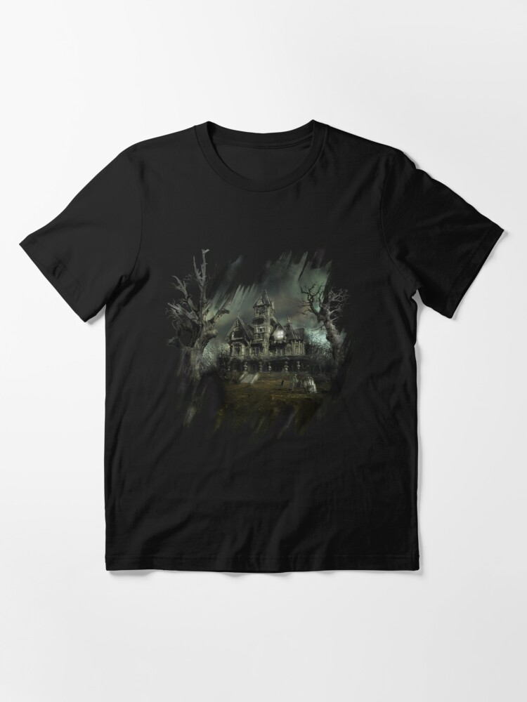 Alternate view of The Haunted House Essential T-Shirt
