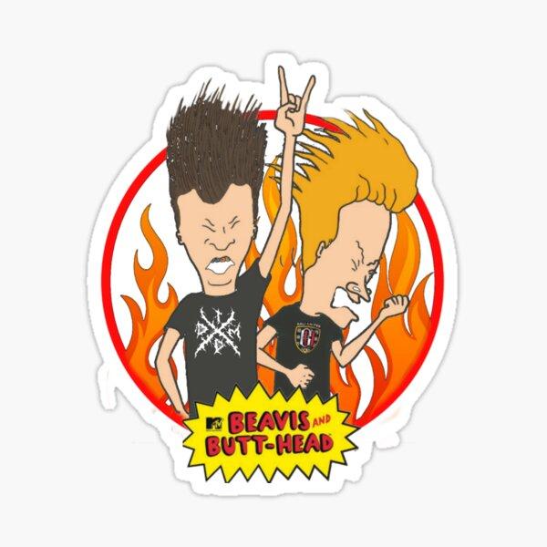Beavis and butthead  Sticker