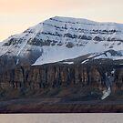 Scheteligfjellet - Kongsfjorden by Algot Kristoffer Peterson