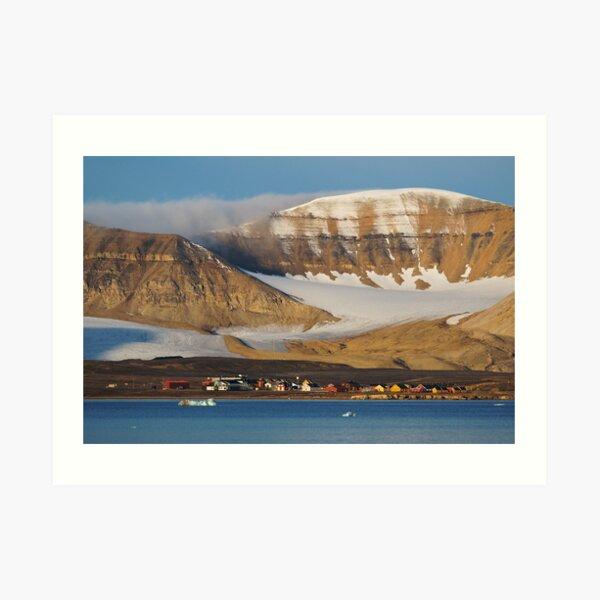 Ny Ålesund Art Print