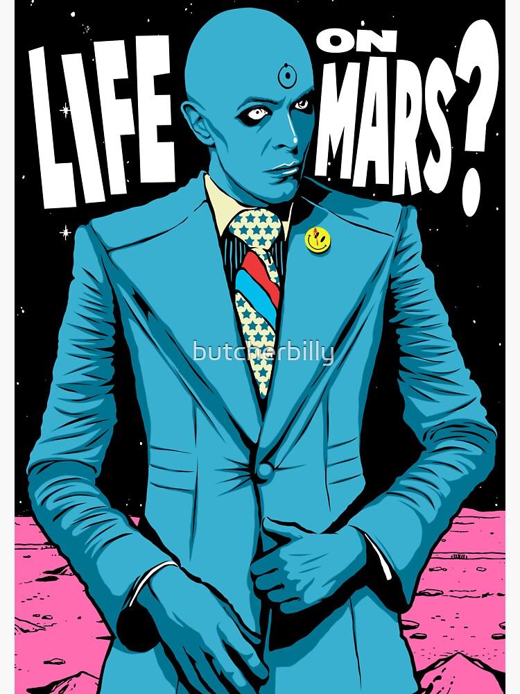 Mars by butcherbilly