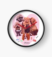 BREED OF DOGS Clock