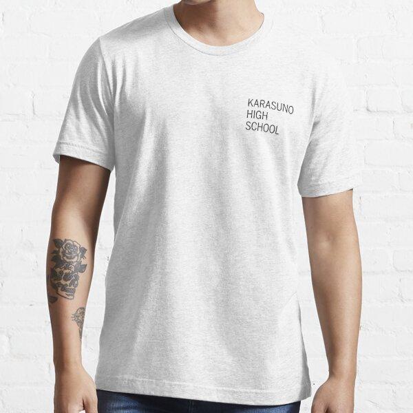 Karasuno Uniform Practice Shirt Design (Black Print) Essential T-Shirt