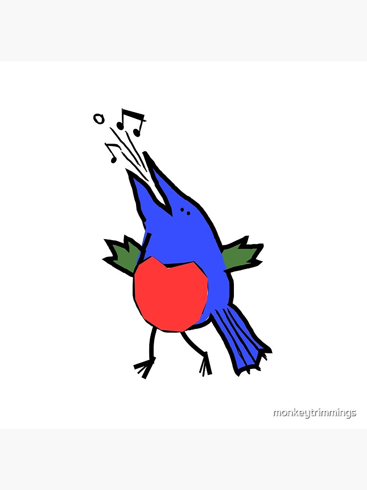 Abstract Musician - Singing Bird by monkeytrimmings