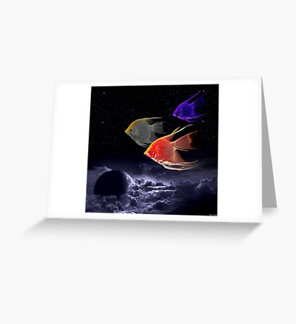 Voyage In The Clouds Greeting Card