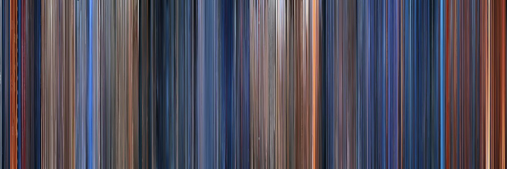 Moviebarcode: Terminator 2: Judgment Day (1991) by moviebarcode