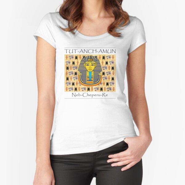 TUTANCHAMUN Neb-Cheperu-Re Tailliertes Rundhals-Shirt