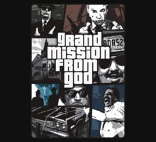 TShirtGifter Presents: Blues Brothers vs Grand Theft Auto Spoof