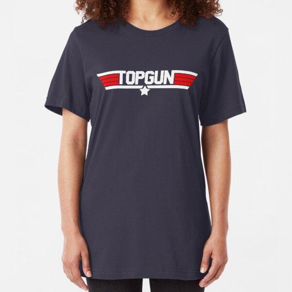 Top wings gun Slim Fit T-Shirt