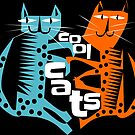 Cool cats by Kristina Evans
