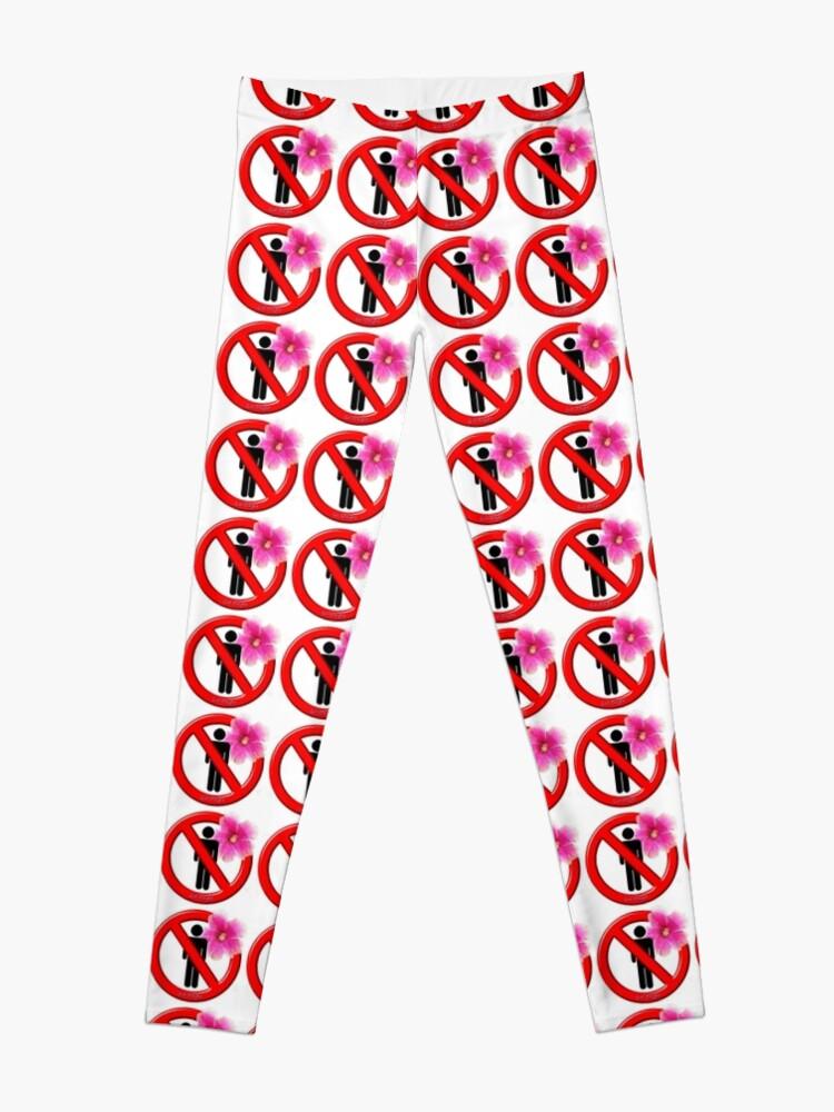 Alternate view of Girls Only!  No men allowed! Leggings