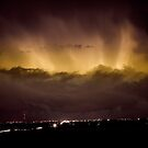 Lightning Cloud Burst Boulder County Colorado IM29 by Bo Insogna