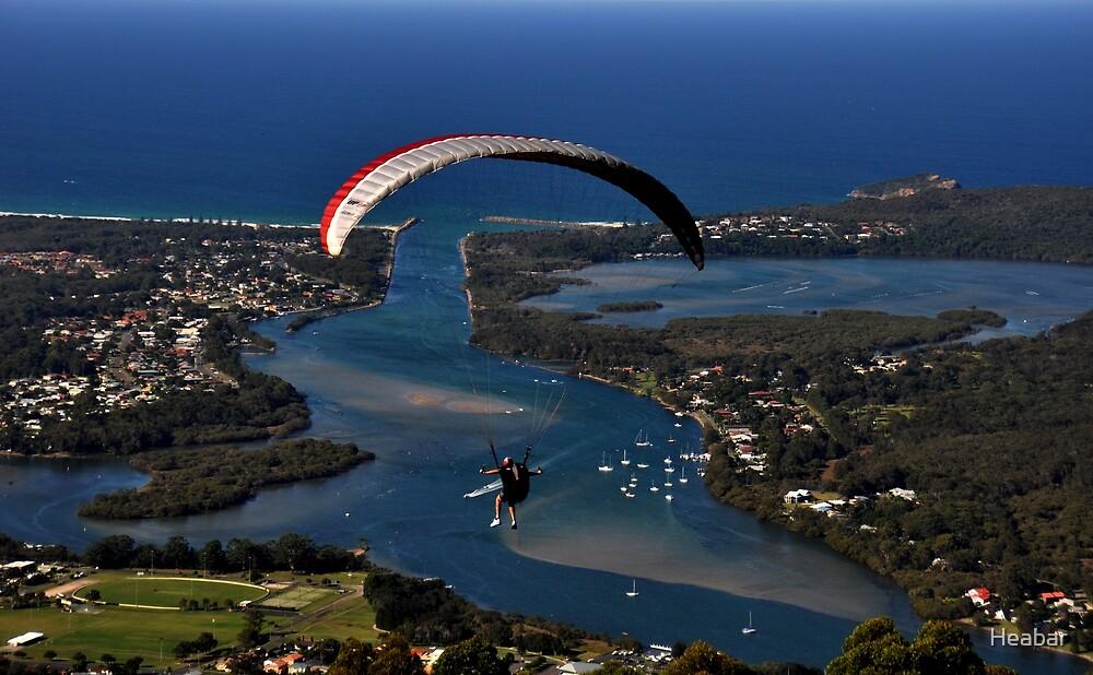 Paragliding to Harrington NSW Australia !!! by Heabar