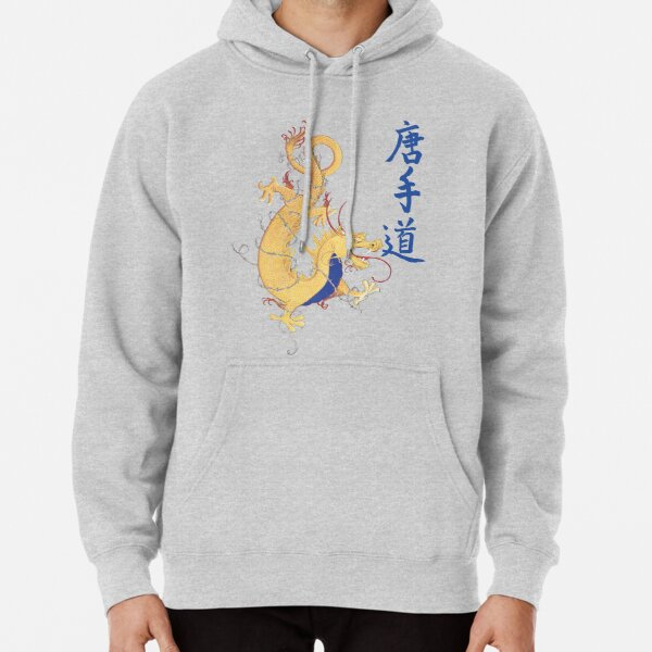 Blue Dragon Pullover Hoodie