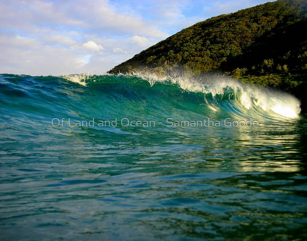 Wash away your worries by Of Land & Ocean - Samantha Goode