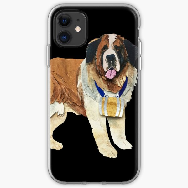 The Saint Bernard iPhone Soft Case