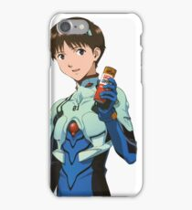 SHINJI IKARI - NEON GENESIS EVANGELION - STICKER iPhone Case/Skin