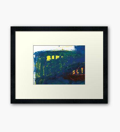 mark of the bridge Framed Print