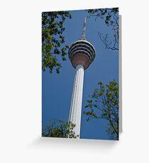KL Tower - Kuala Lumpur Greeting Card